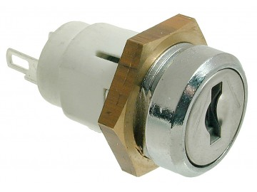 Mini Inline Key Switch Single Pole 2916