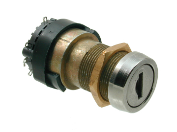 8 Disc Rotary Action Key Switch 2904