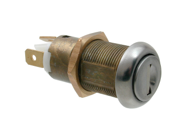 5 Disc Shuttered In-line Key Switch 3738