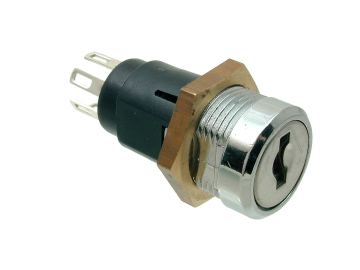Mini Inline Key Switch Double Pole 5023